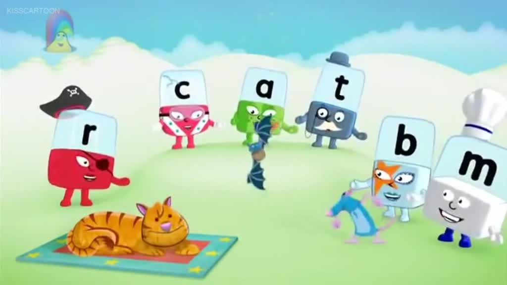 Watch Alphablocks Season 2 Episode 26 The Cat Sat On The