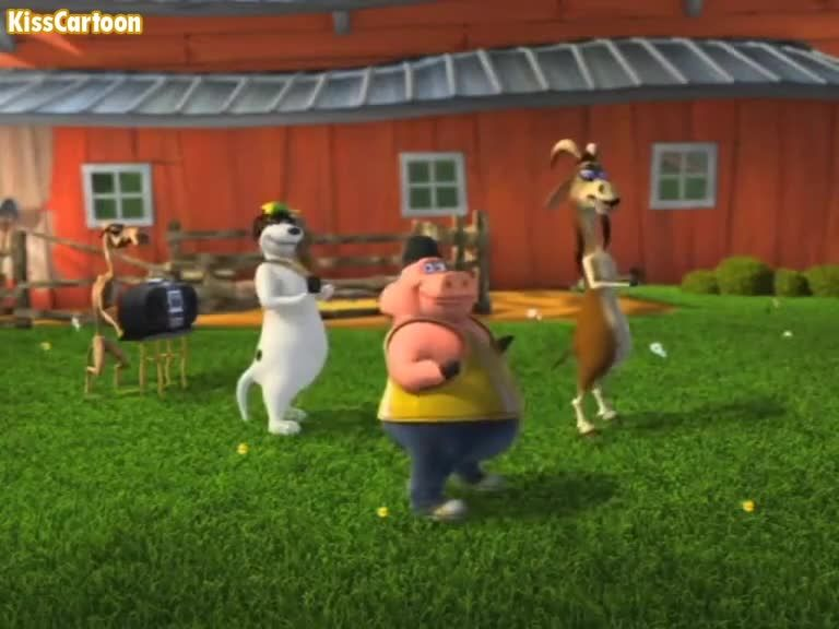 With Back in the barnyard nude have