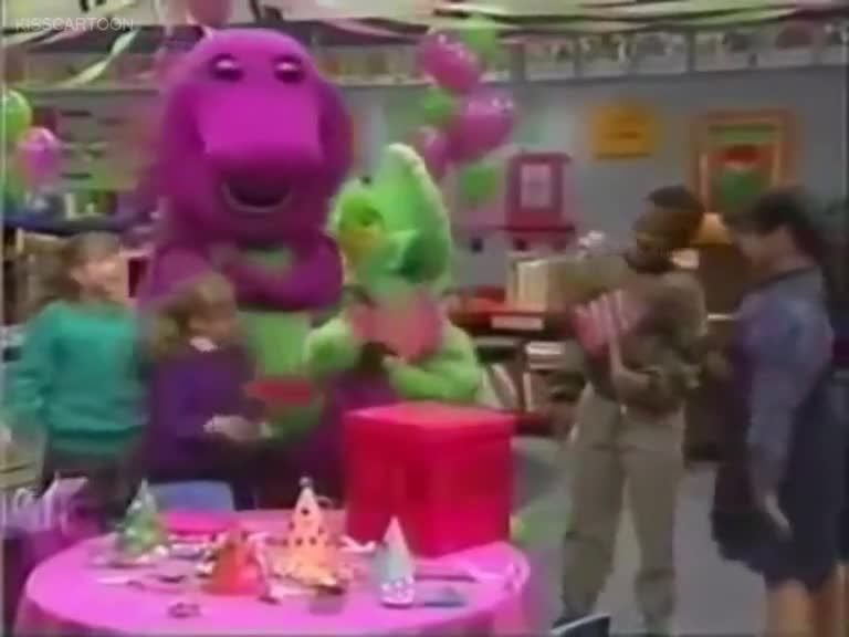 barney and friends season 2 episode 10 look at me i�m 3