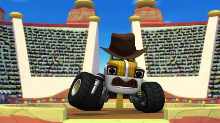 Watch Blaze And The Monster Machines Season 2 Episode 4 5 Race To The Top Of The World Online