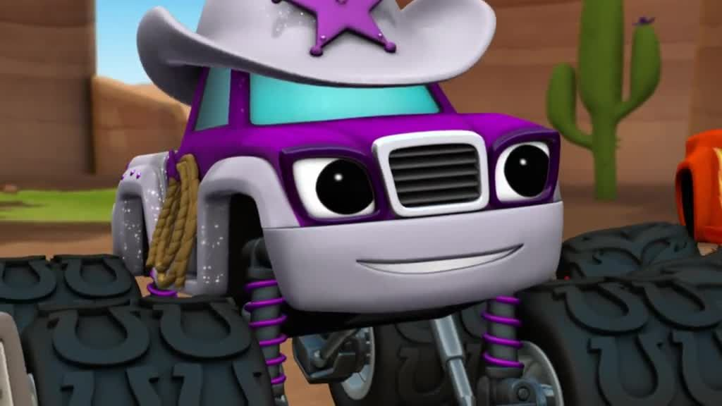 Blaze and the monster machines episode 18 cattle drive for Blaze episodi