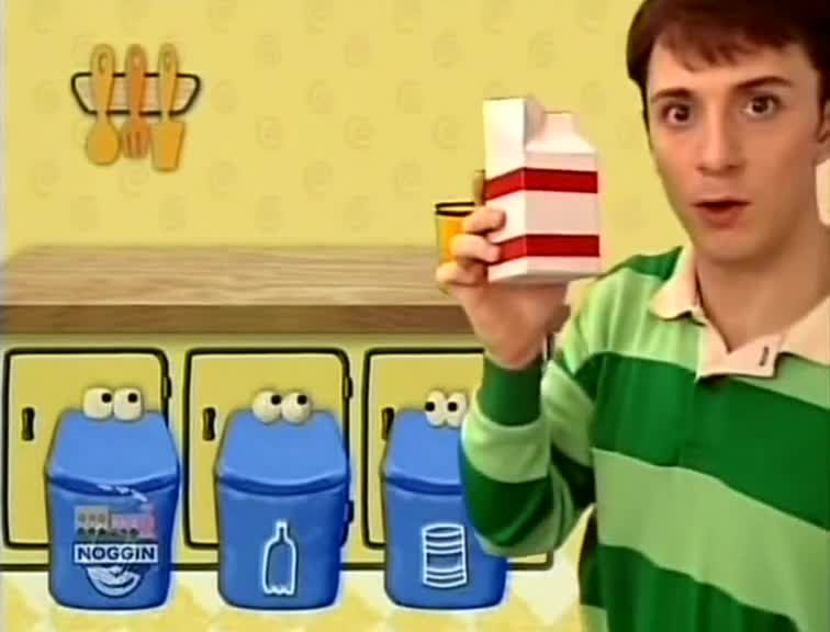 Watch Blue's Clues Season 2 Episode 5 What Does Blue Want ...