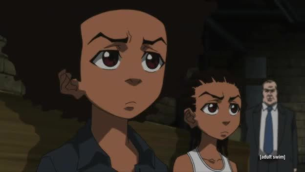 The boondocks a date with the booty warrior
