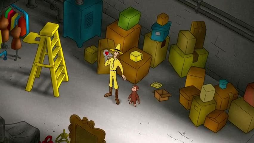 Watch Curious George Season 2 Episode 12 Scaredy Dog Say Goodnight George Online Curious George