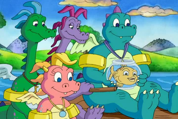 Dragon Tales Season 3 Episode 1 To Fly With A New Friend Watch