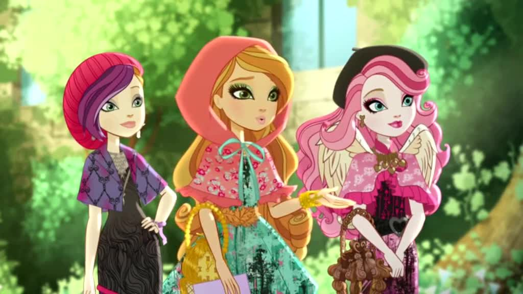 Ever After High Season 3 Episode 6 Through The Woods