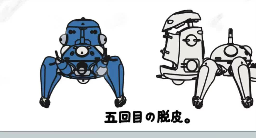 Ghost In The Shell Stand Alone Complex Tachikomatic Days Episode