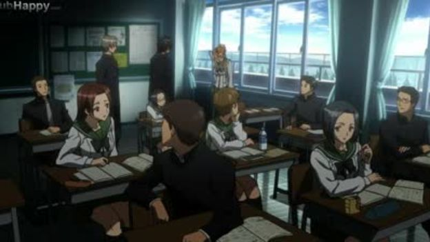 highschool of the dead episode 1