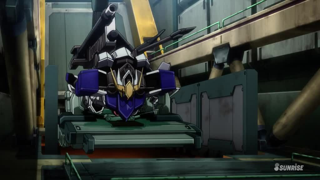 mobile suit gundam: iron-blooded orphans episode 8