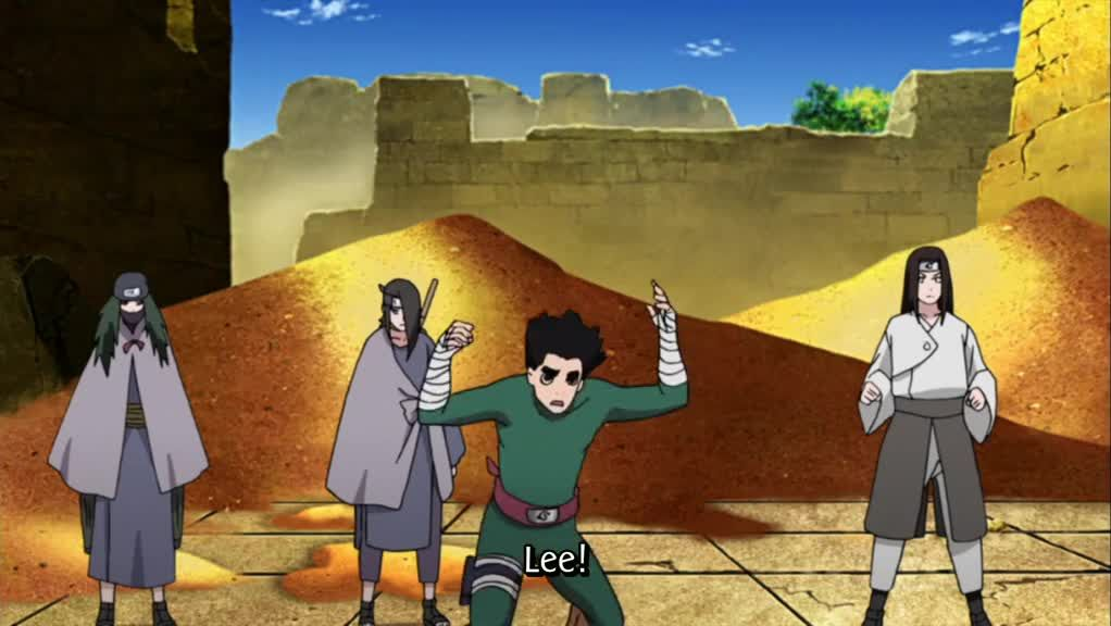 Where can you the watch the English dubbed, Naruto