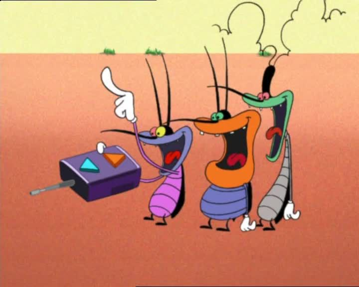 Watch Oggy and the Cockroaches Season 1 Episode 73 Loony ... | 720 x 576 jpeg 31kB