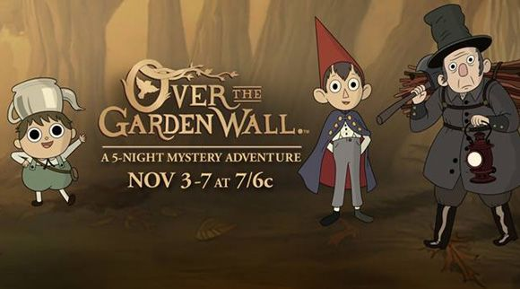 Over the garden wall episode 7 8 the ringing of the bell babes in the woods watch cartoons for Over the garden wall episode 3