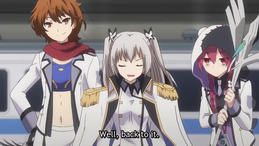Qualidea Code Episode 6 English Subbed images, pictures