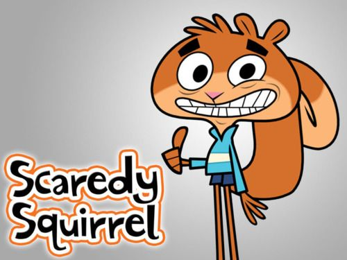 Cartoon Pic Of Squirrel: Scaredy Squirrel Episode 14 Aisle Of The Dead