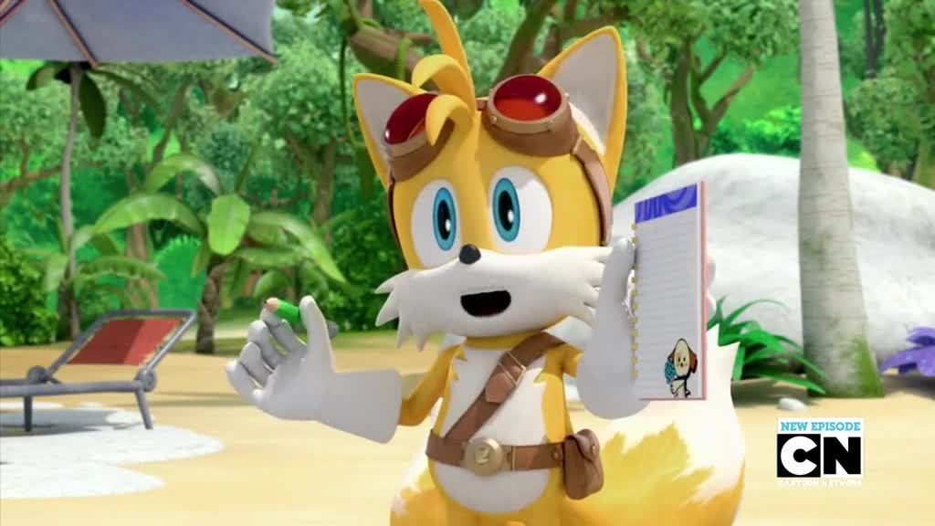 Sonic Boom Episode 40 Tails' Crush | Watch cartoons online ...
