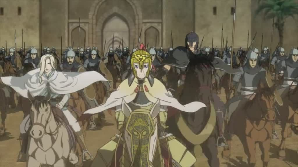 Legend of arslan episode 24 english subbed watch cartoons online