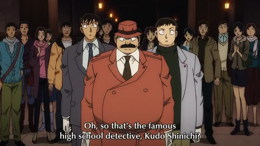 detective conan episode one the great detective turned small english subbed