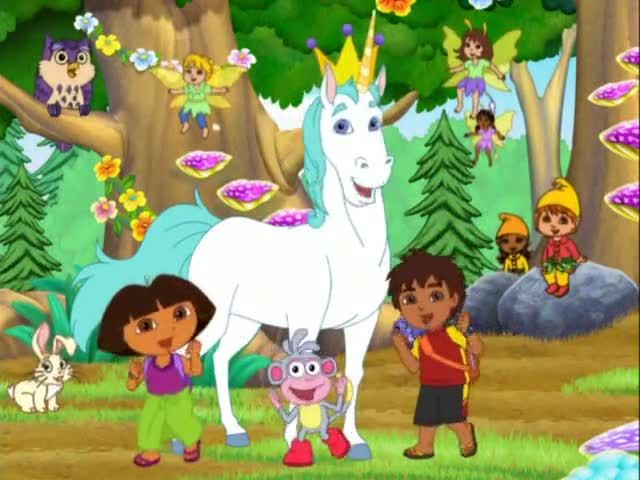 Dora the Explorer Season 6 Episode 14 Doras Enchanted Forest