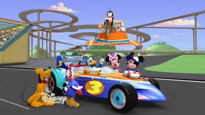 Mickey a závodníci / Mickey and the Roadster Racers (2017-18