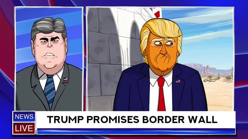 Our Cartoon President Episode 15 – The Wall | Watch ...