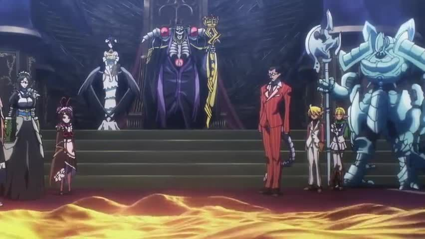 overlord episode 1 english dub