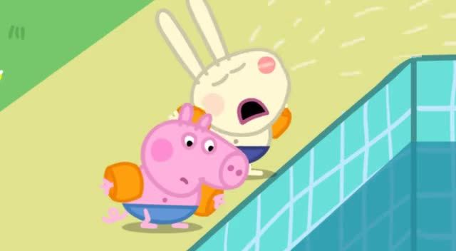 Watch peppa pig season 2 episode 20 swimming online peppa pig for Peppa pig swimming pool english full episode