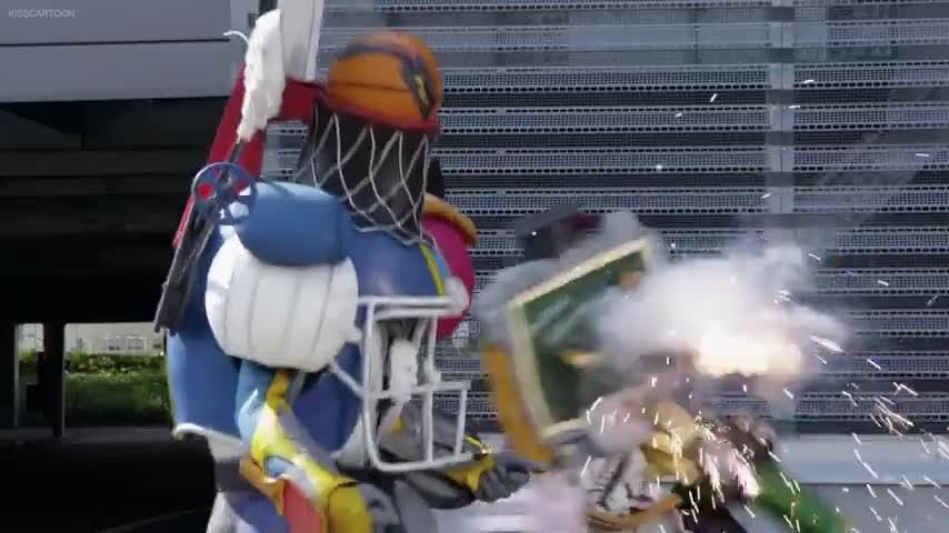 Power Rangers Dino Super Charge Megazord Fights - YouTube