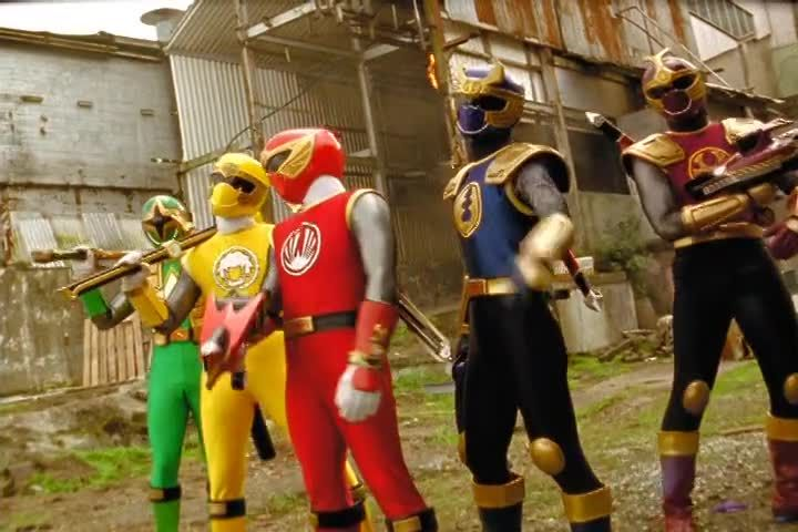 Power Rangers Ninja Storm Episode 30 The Wild Wipeout