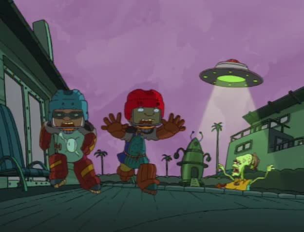 watch rocket power season 2 episode 12 it came from planet