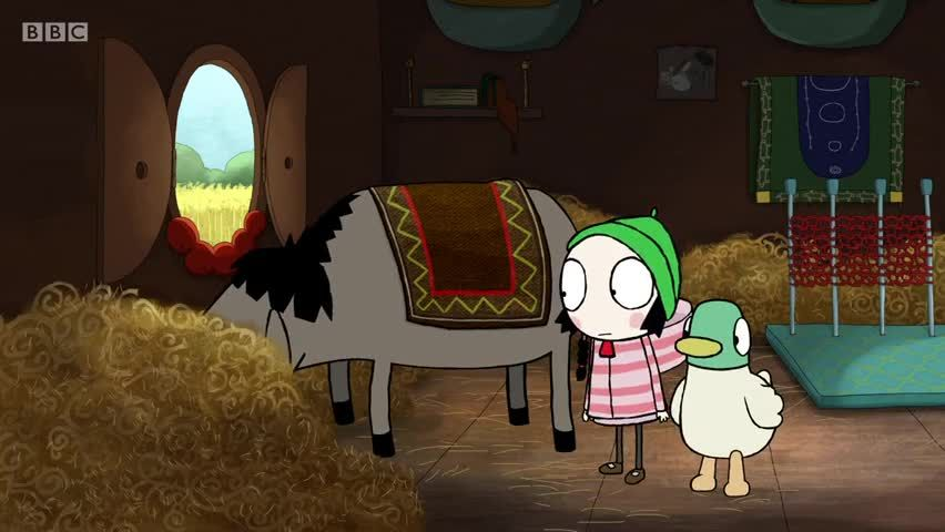 watch sarah and duck season 3 episode 25 � donkey jump